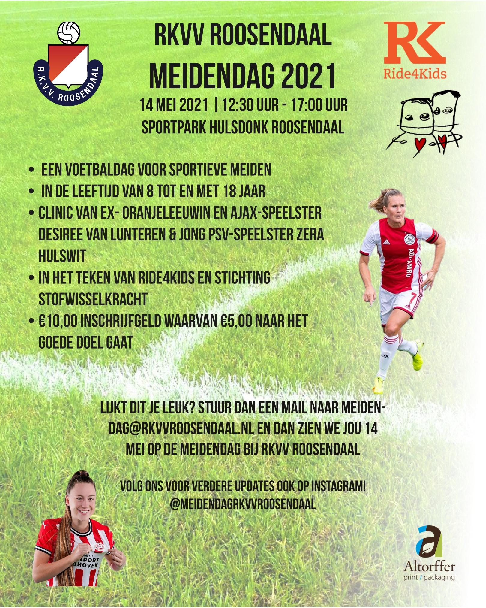 RKVV Meidendag 2021 !