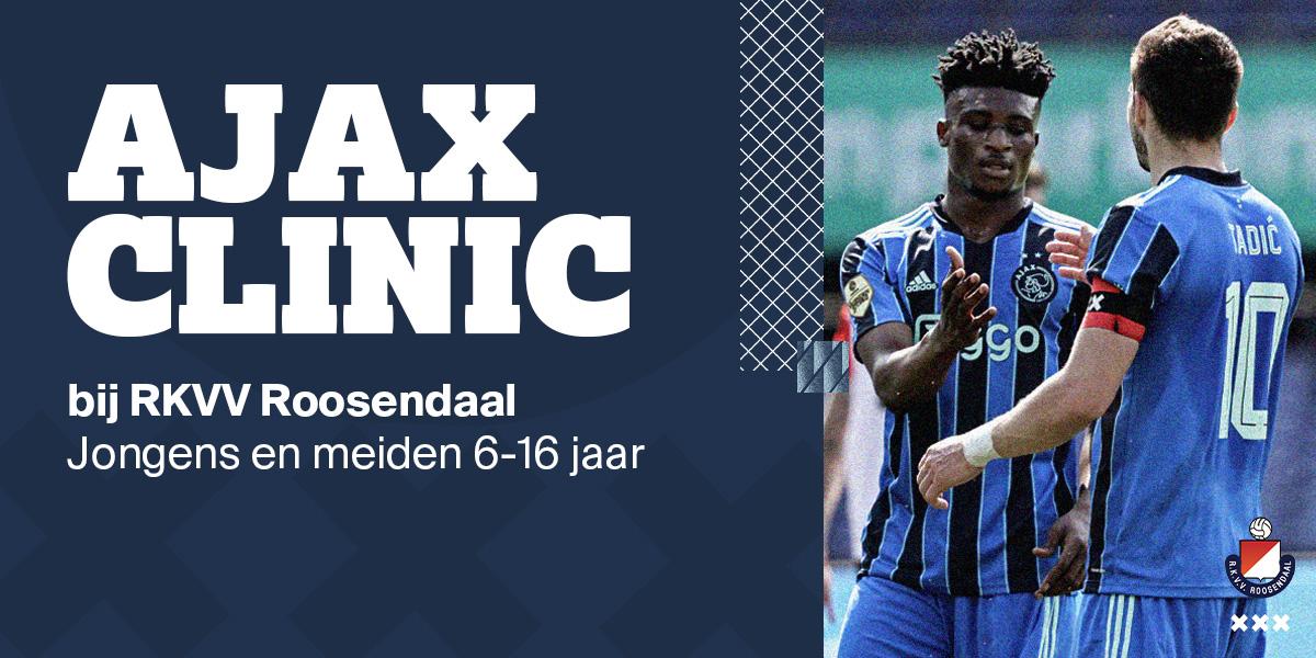 Ajax Clinic 28 Oktober